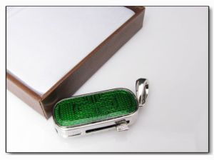 Jewelry Diamond Cylinder Locks USB Flash Drive (HN07) pictures & photos