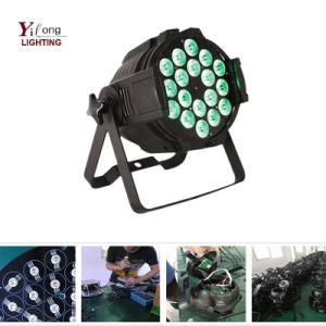 Yilong Factory Brightness 18PCS Rgabw Aluminum Wedding LED Light