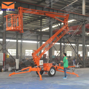 CE Approved 6m Towable Boom Lift for Aerial Work pictures & photos