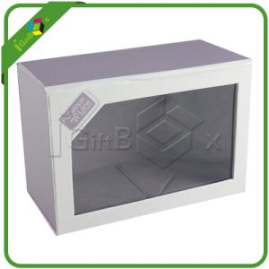 Collapsible Paper Cardboard Folding Boxes with Window pictures & photos