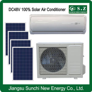 off Grid Home Use Cooling DC48V 12000BTU Solar Air Conditioner pictures & photos