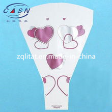 Cello Printed Flower Sleeves (ML-OP-713) pictures & photos