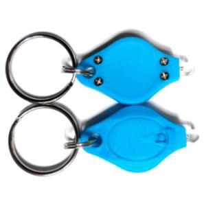 Promotional LED Flashlight Key Holder with Logo Printed (3032) pictures & photos