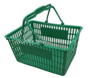OEM Plastic Injection Product, Supermarket Shopping Basket