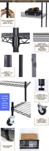 Epoxy Coated Shop Metal Water Bottle Rack (CJ6868150A3EB) pictures & photos