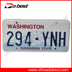 Metal Car Name Plate for USA pictures & photos