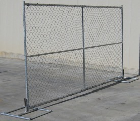 United States 6FT X 12FT Fence Panels for Chain Link Construction Site Fence pictures & photos