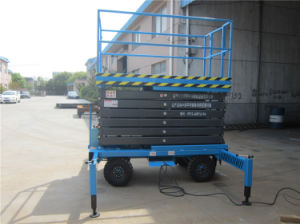 Self Propelled Moveable Hydraulic Lift (SJY0.5-12) pictures & photos