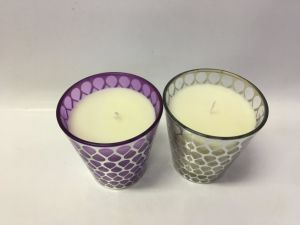 Popular New Designed Scented Glass Jar Candle pictures & photos