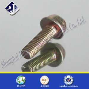 Flange Bolt Flange Screw Fastener pictures & photos