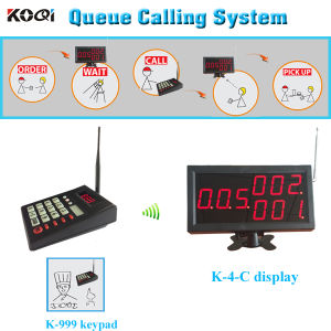 Fast Food Restaurant Equipment Queue Calling System pictures & photos
