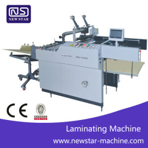 Easily Operation Paper Laminating Laminator Yfma-650/800 pictures & photos