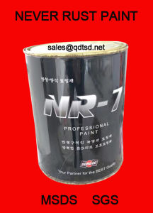 Nr-7 High Penetration Anticorrosion Paint pictures & photos