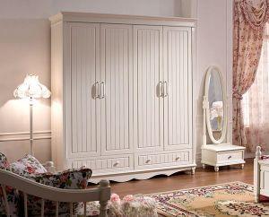 Accessories Bedroom Furniture Solid Wood White Wardrobe Doors Wooden