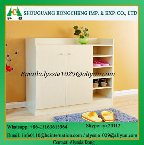 Modern Home Living Room Furniture Wooden Shoe Cabinet pictures & photos
