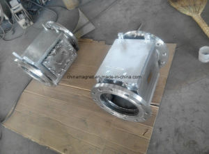 Rcyj Liquid Pipeline Permanent Magnetic Separator for Liquid Ferrous Metal Trap pictures & photos