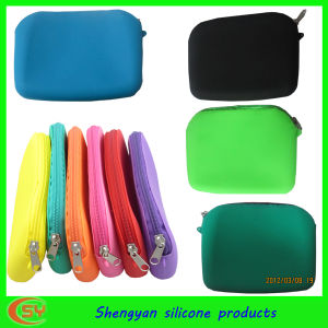 Silicone Zipper Wallet by Shengyan Design (SY-ZW-001)