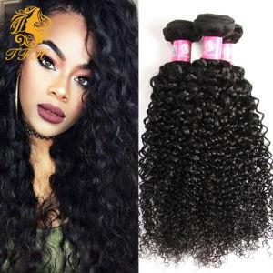 7A Malaysian Kinky Curly Virgin Hair 4 Bundles Malaysian Curly Hair Afro Kinky Curly Malaysian Virgin Hair 100% Human Hair Weave pictures & photos