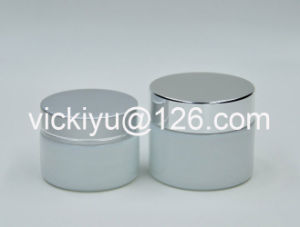 30g, 50g Opal Glass Cosmetics Jars, High Quality Cream Glass Jars pictures & photos