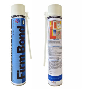 Door and Window Sealing Adhesive PU Foam pictures & photos