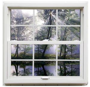 Us Style Aluminum Vertical Sliding Window