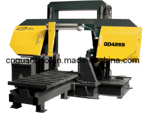 Double Column Band Sawing Machine for Metal Cutting Gd4265 pictures & photos
