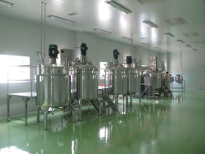 Industral Stainless Steel Vacuum Cream Cosmetic Homogenizer Blender Mixing Tank pictures & photos