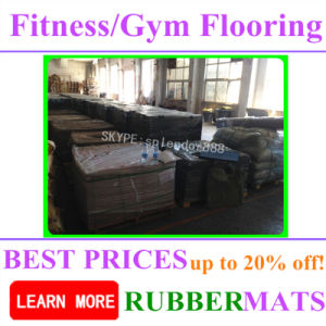 China Manufacturer Noise Reduction Weight Lifting Home Gym Flooring pictures & photos