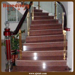 Indoor Modern Design Aluminum Baluster Glass Railing (SJ-705) pictures & photos