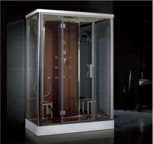 2016 New Style Luxury Steam Shower Enclosure with Control Panel Asts1056 pictures & photos