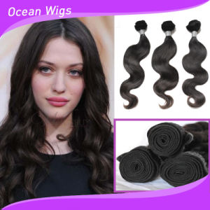 100% Human Hair Weave (w-081) pictures & photos