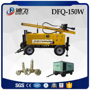 Good at Rocky Ground Dfq-150W Efficient Trailer Mounted Mining Rock Drill Rig pictures & photos