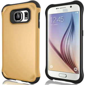 Hybrid Slim Shockproof Heavy Duty Rubber Hard Case Cover for Samsung S6/6edge pictures & photos