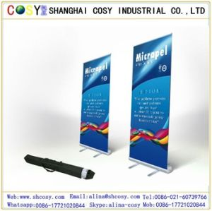 Thick Aluminum Roll up Stand with Broad Base pictures & photos
