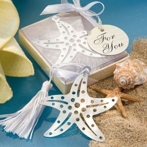 Book Lovers Collection Starfish Bookmarks Weddingfavors Party Favors Centerpieces Baby Shower