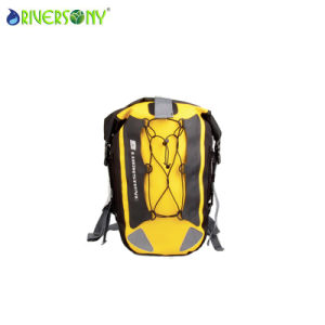 Yellow Polyester Waterproof Bag Backpack pictures & photos