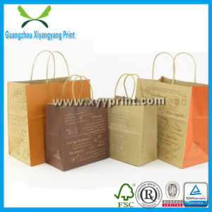Hot Sell Kraft Food Paper Bag Wholesale pictures & photos