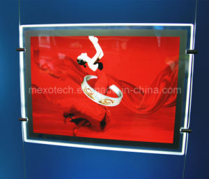 Magnetic Open Acrylic LED Poster Slim Light Box pictures & photos
