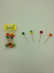 Party Disposable Wood Cocktail Picks