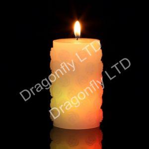 LED Rose Pillar