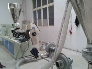 Plastic PVC Powder Compounding Pelletizing Machine pictures & photos