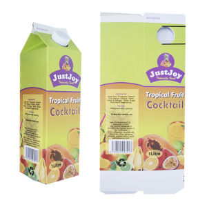250ml Juice Gable Top Carton pictures & photos