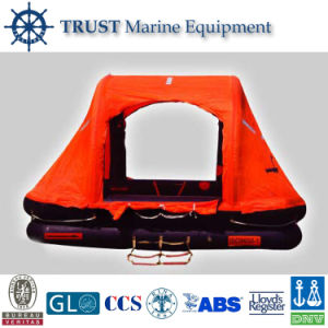 CCS Ec Approved 4 To12 Persons Self-Righting Inflatable Life Raft pictures & photos