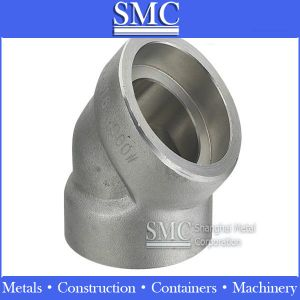Stainless Steel Socket Weld Elbow: 90° and 45°