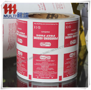 Alcohol Prep Pad Packaging Paper for Medical Packaging pictures & photos