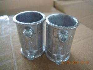 EMT Coupling (EMT=Electrical Metallic Tubing) pictures & photos