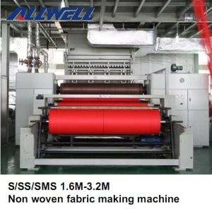 Double Beam Nonwoven Fabric Making Machine pictures & photos