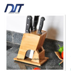 High Quality Anti-Bacteria Bamboo Kitchen Wood Knife Frame pictures & photos