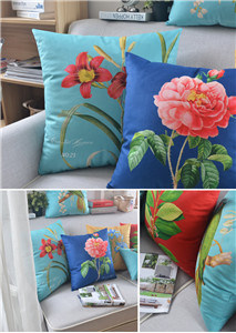 Country Flower Plants Sofa Fashion Model Room Decoration Cushion Pillow pictures & photos