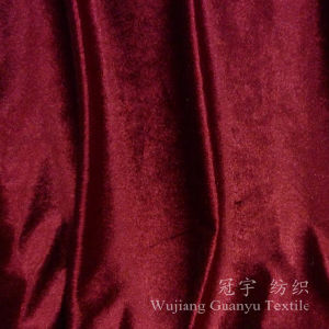Shiny Velvet with Gloss Treatment for Sofa Cloth pictures & photos